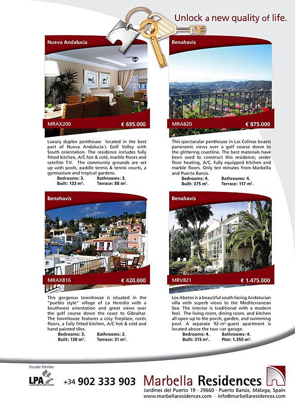 Diseno Web Malaga - Marbella Residences