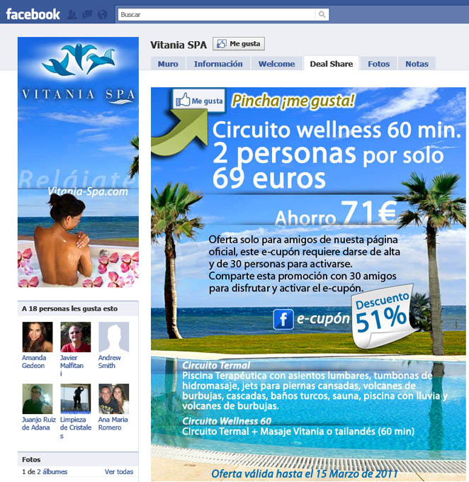 Diseno Web Malaga Vitania Spa Marketing