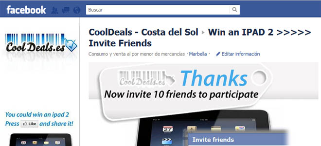 Marketing en redes sociales Cool Deals