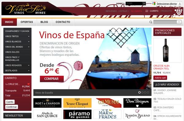 Tienda Online de Vinos VinaSur
