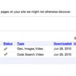 Sitemap, un almacén de contenido.